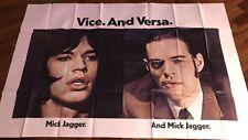Performance / Mick Jagger / Affiche / Cinema Poster / 6 sheet Us /