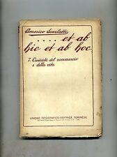 Americo Scarlatti # ET AB HIC ET AB HOC N.7 # UTET 1929