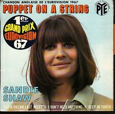 12435  SANDIE SHAW  PUPPET ON A STRING