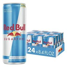 New Red Bull Energy Drink Sugar Free 24 Pack of 8.4 Fl Oz,6 Packs of 4