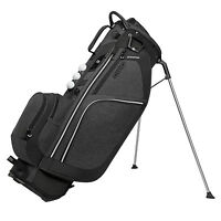 "OGIO Ozone 9.5"" Woode Top 7 Pocket + 3 Ball Silo Golf Stand Bag, Dark Static"