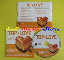 CD TOP OF LOVE  VOLUME 3 compilation PROMO SPANDAU LAUPER SIMONE (C6) no mc lp
