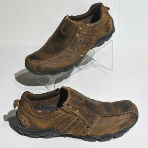 Skechers Diameter Men's Distressed Athletic Comfort Shoes Size 7.5 Brown
