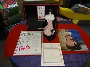 Nostalgic Barbie Enchanted Evening Porcelain Figurine Applause 1991 w/COA + BOX