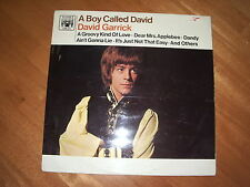 DAVID GARRICK - A BOY CALLED DAVID ! NEAR MINT 1st 1967 UK PRESS!