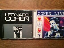 Leonard Cohen  [2 CD Alben] LIVE -  In Concert + I'm Your Man