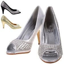Women's Stiletto Mid Heel (1.5-3 in.) Special Occasion Shoes