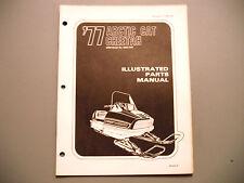 1977 Vintage Arctic Cat Cheetah Parts Manual