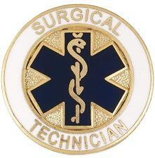 of Life Medical Surgery Tech Graduation Surgical Technician Lapel Pin Blue Star