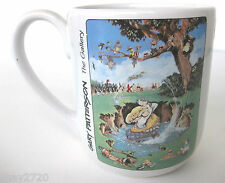 """PRE-OWNED 1996 GARY PATTERSON """"THE GALLERY"""" 3D GOLF MUG"""
