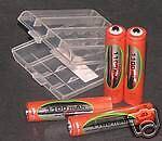 Vapex Rechargable 1100mAh AAA Batteries
