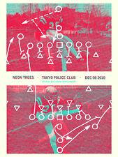 Tokyo Police Club December 2010 LE Gig Poster