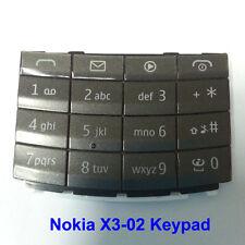 100% Genuine Original Nokia X3-02 Keypad Fascia Housing - Dark Grey