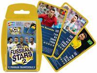 Top Trumps Weltfußball Stars 2 Quartettspiel Kartenspiel Quartett Karten Spiel