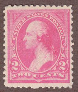 US Scott #248 1894 2c George Washington, Mint NH OG