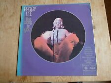 Peggy Lee vinyl LP The Song Is You plays VG+ MFP 1358