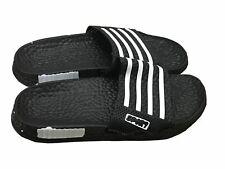 Mens Slip On Sport Sandals Slides Rubber Flip Flops Shower Slippers Black 12
