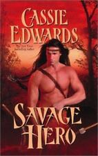 Savage Hero by Cassie Edwards (2003 Paperback) Historical Romance