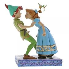 Peter Pan und Wendy An Unexpected Kiss Enesco Disney Traditions Figurine 4059725