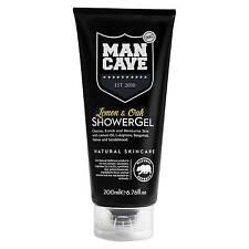 Men Shower GEL Mancave Wash Bath Body Natural Lemon Oak 200ml No Parabens