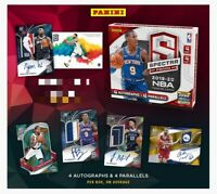 2019-20 Panini Spectra Basketball Hobby Box