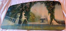 "c1920 Art Deco ""Enchantment"" by George Hacker Lithograph Print"