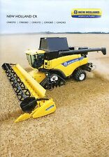 New Holland CR 03 /  2014 catalogue brochure moissonneuse batteuse combine