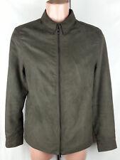 Zara Man Long Sleeve Men's Full Zip Jacket Size:M Slim Fit 100% Polyester