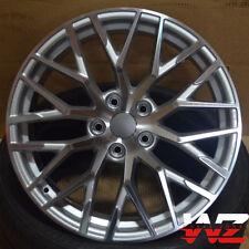"20"" R8 V10 Style Silver Machined Wheels Fits Audi A4 A6 A7 A8 S4 VW CC Rims"