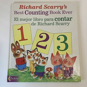 Richard Scarry's Best Counting Book Ever - English & Spanish!