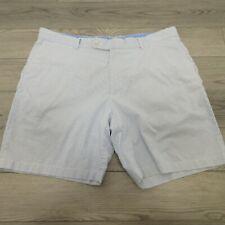 Peter Millar Men's Shorts Size 40 Stretch Cotton Spandex Striped Blue