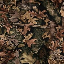 True Timber Harvest Camo Camouflage Woodland Brown Cotton Fabric by the Yard