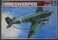 Italeri 1/72nd Scale Minesweeper Ju 52 Kit No. 126 Sealed in Box!!!