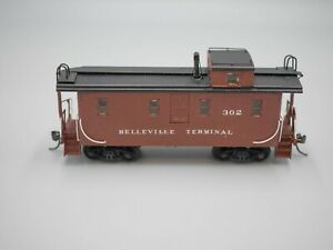 Brass Caboose - HO Scale - Private Road Name