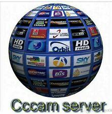 Oscam/Cccam 1 Jahr/Year Europe TOP Geld zurück Garantie !!!