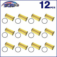 BRAND NEW SET OF 12 OIL FILTER FOR FORD SUPER DUTY POWERSTROKE 6.0L/6.4L DIESEL