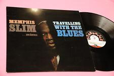 MEMPHIS SLIM LP TRAVELLING TOP JAZZ BLUES STORYVILLE RECORDS NM !