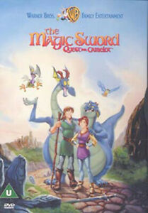 THE MAGIC SWORD - QUEST FOR CAMELOT DVD [UK] NEW DVD