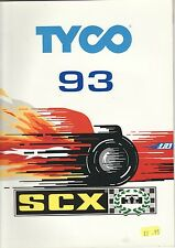 Spanish SCX Tyco Scalextric size slot cars catalogue 1993 Du Mans  XJR 14 Mazda
