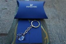 Swarovski 623413 ( 5430348 ) Crystal Ball Key Ring Holder SWAN LOGO Authentic