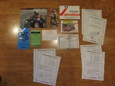 Kawasaki 1996 Klf400 B4 Bayou Oem Owners Manual All Paperwork & Dirt Wheels Mag