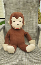 "Vintage Large 27"" Curious George Plush"
