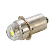 HQRP 45 Lumens 0.5W LED White Flashlight Bulb 2C 3C 4C 5C 6C 2D 3D 4D 5D 6D Cell