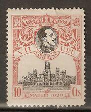 1920 CONGRESO DE LA UPU EDIFIL 300*