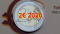 2 euro 2020 commemorativo tutti i paesi disponibili annata completa