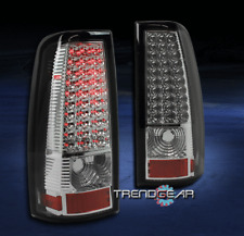 1999-2002 CHEVY SILVERADO/GMC SIERRA TRUCK LED TAIL BRAKE LIGHT REAR LAMP CHROME