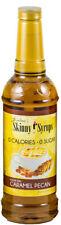 Jordan's Sugar Free Skinny Syrup Caramel PECAN flavour 750ml (CP)