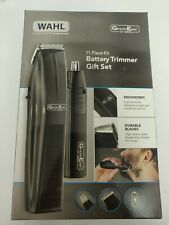 WAHL GROOM EASE BATTERY TRIMMER GIFT FOR MEN SET 11 PIECE KIT