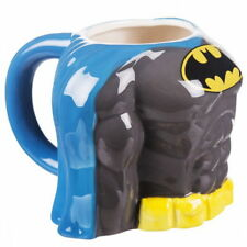 NEW OFFICIAL DC Comics Batman Torso 3D Novelty Coffee Tea Mug