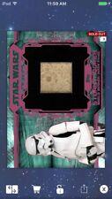 Topps Star Wars Digital Card Trader Red/Teal Stormtrooper Relic Insert